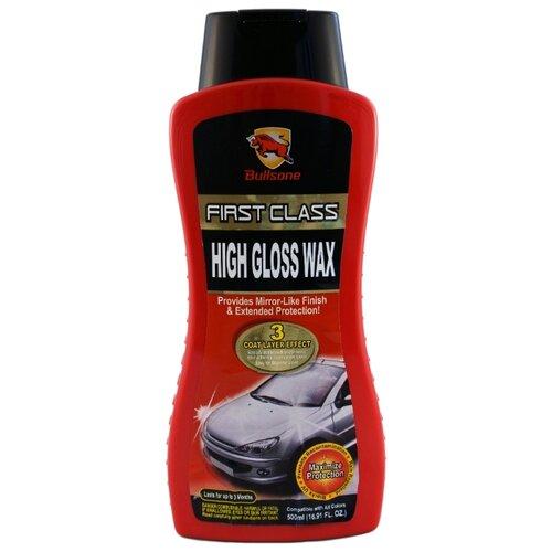 Воск для автомобиля Bullsone High Gloss Wax 0.5 л