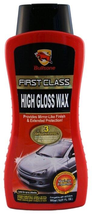 Воск для автомобиля Bullsone High Gloss Wax