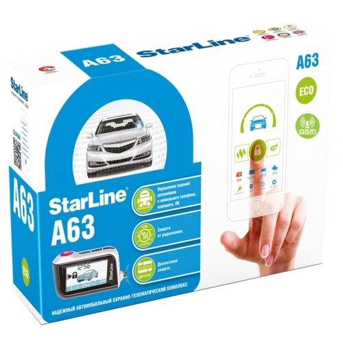 Автосигнализация StarLine A63 GSM ECO автосигнализация starline a63