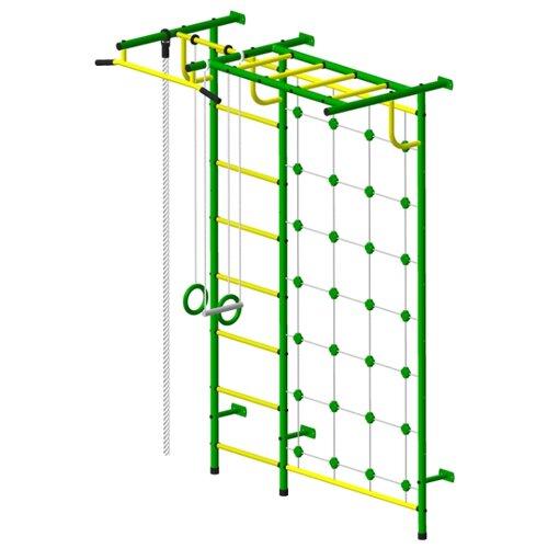 Спортивно-игровой комплекс Пионер С4С зеленый/желтый