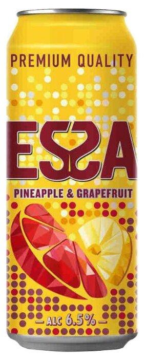 Пивной напиток светлый Essa Pineapple & Grapefruit 0.45 л