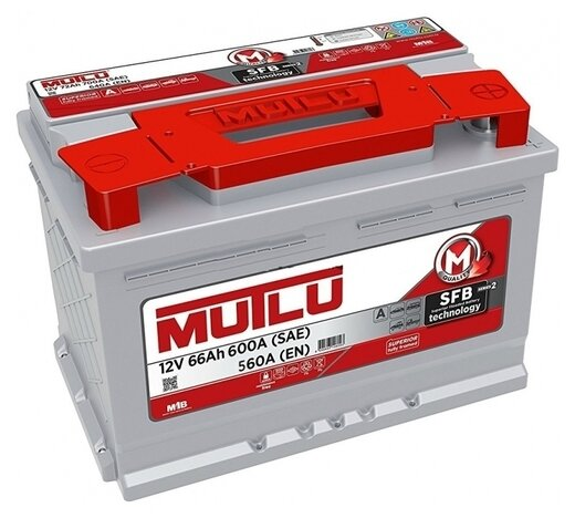 Автомобильный аккумулятор Mutlu SFB 2 (LB3.66.056.A)