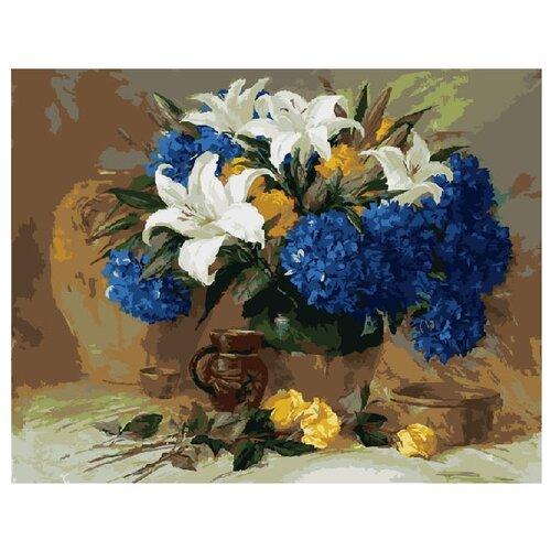 Купить ВанГогВоМне Картина по номерам Лилии , 40х50 см (ZX 10022), Картины по номерам и контурам