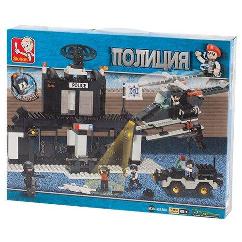Купить Конструктор SLUBAN Военная полиция M38-B1500, Конструкторы
