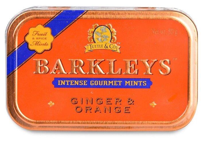 Леденцы Barkleys Mints Имбирь Апельсин 50 г