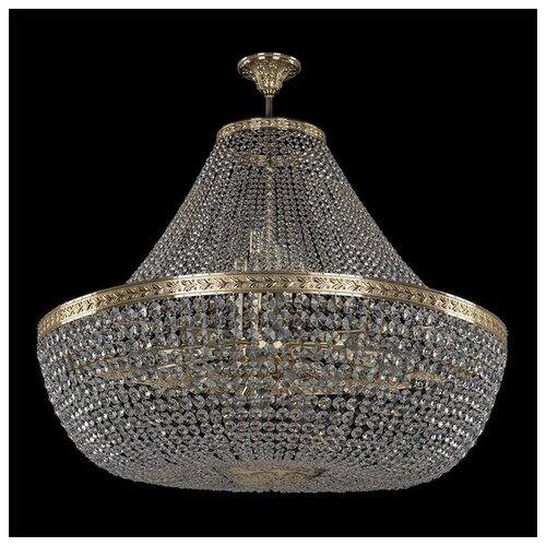 Люстра Bohemia Ivele Crystal 1911 19111/H1/100IV G, E14, 1040 Вт bohemia crystal люстра bohemia crystal 1911 45 z ni