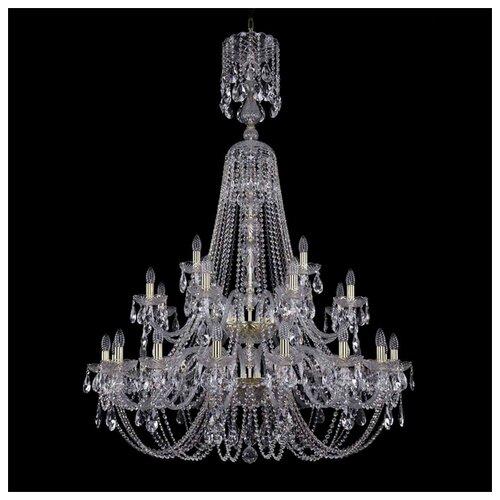 Люстра Bohemia Ivele Crystal 1406 1406/16+8+4/400/XL-162/2d/G, E14, 1120 Вт bohemia ivele crystal 1406 16 8 4 400 160 2d g