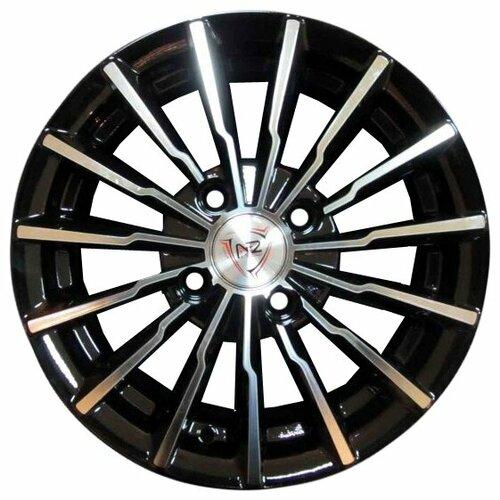 Фото - Колесный диск NZ Wheels SH647 6x15/5x100 D57.1 ET38 BKF колесный диск nz wheels sh658 6 5x16 5x114 3 d67 1 et38