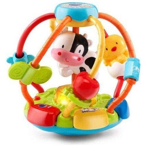 Развивающая игрушка VTech Мяч Тряси и крути (80-502926) зеленый/голубой/красный, Развивающие игрушки  - купить со скидкой