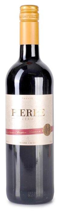 Вино французское красное безалкогольное Pierre 0 Pierre Chavin 0.75 L