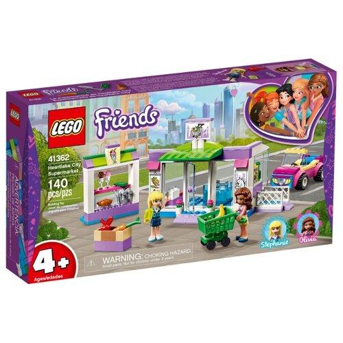 Конструктор LEGO Friends 41362 Супермаркет Хартлейк Сити конструктор friends lego lego mp002xg00jt9