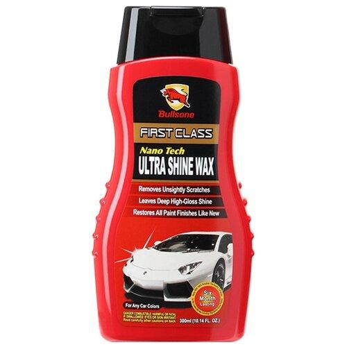 Воск для автомобиля Bullsone Nanotech Ultra Shine Wax 0.3 л