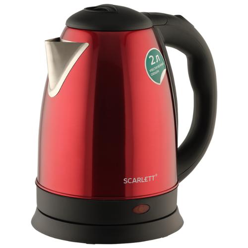 Фото - Чайник Scarlett SC-EK21S76, red чайник электрический scarlett sc ek21s76 2л 1800вт красный