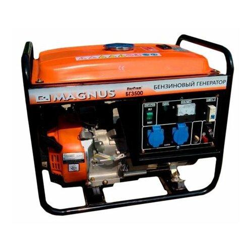 Бензиновый генератор Magnus БГ-3500Е (3000 Вт)