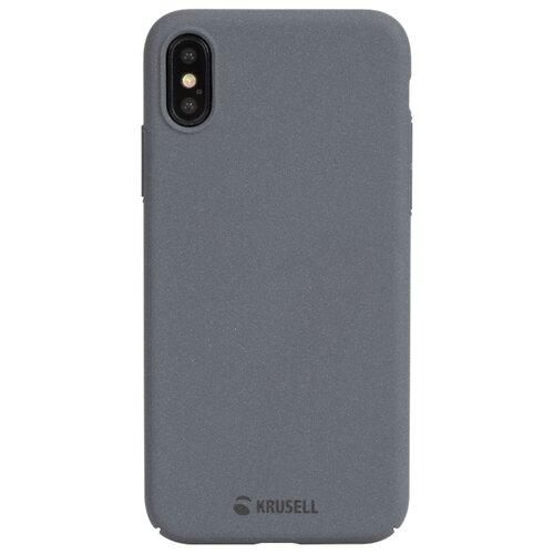 Купить Чехол Krusell Sandby Cover для Apple iPhone X/Xs темно-серый
