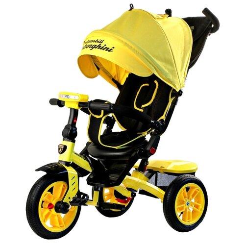 Купить Трехколесный велосипед Lamborghini L5 Panorama 2018 желтый, Трехколесные велосипеды