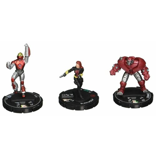 Фигурки NECA HeroClix Marvel Железный Человек и Черная Вдова 70028