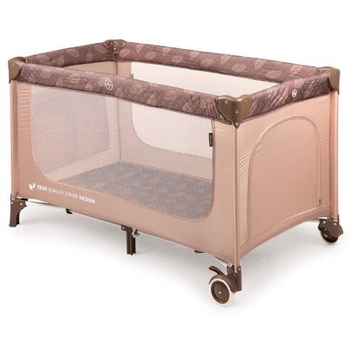 Манеж-кровать Happy Baby Martin sand манеж кровать baby care ob 888 серый бежевый