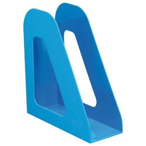 Лоток вертикальный для бумаги СТАММ Фаворит blue лоток вертикальный для бумаги стамм фаворит тонированный темно красный вишня