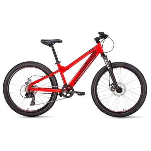 цена на Подростковый горный (MTB) велосипед FORWARD Titan 24 2.0 Disc (2020) красный 13