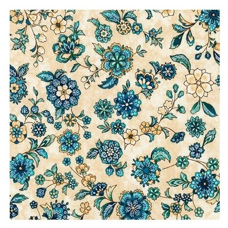 Ткань Robert Kaufman PEPPY (A - O) для пэчворка CALISTA 50 x 55 см 146±5 г/кв.м SRKP-18132