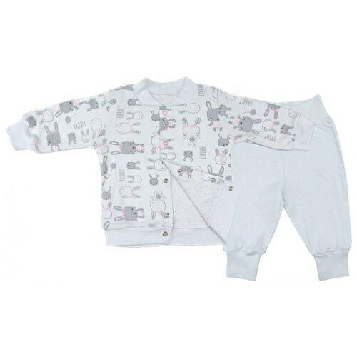 Купить Комплект одежды Топотушки размер 74, белый, Комплекты