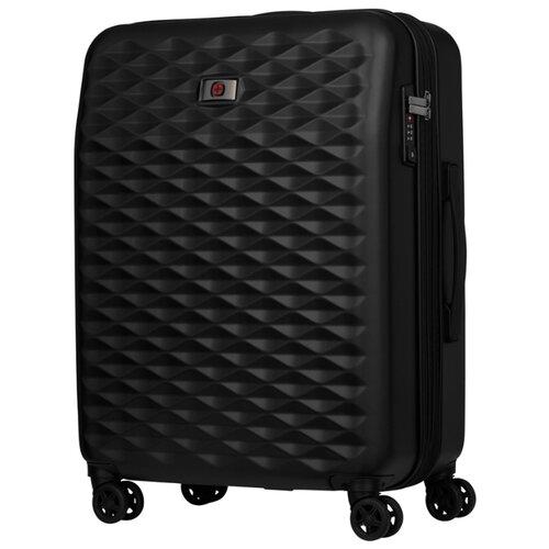 Чемодан WENGER Lumen M 61 л, черный чемодан wenger zurich ii цвет черный 48 см x 30 см x 72 см 104 л