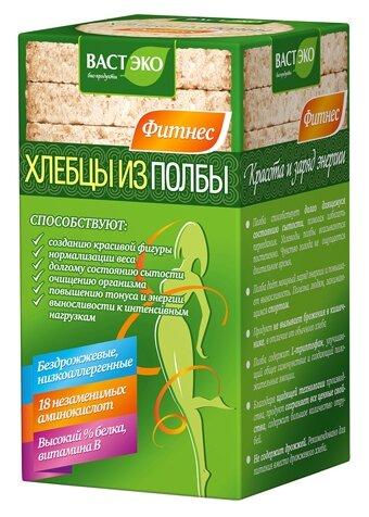 Хлебцы полбяные ВАСТЭКО Фитнес круглые без соли 100 г