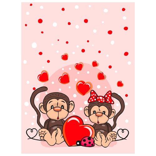 Фото - Набор для раскрашивания по номерам на картоне Фрея Это Любовь..., 30x40 см, арт. PKZ-2 набор для раскрашивания по номерам фрея pkz f2 06 анна и эльза