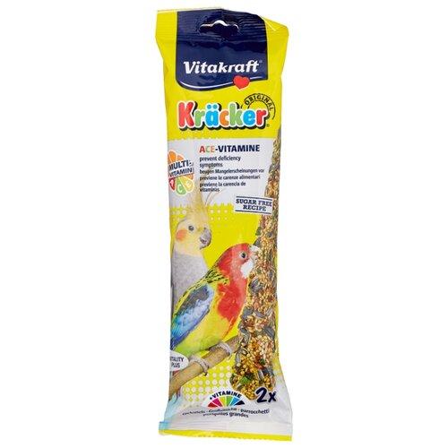 Лакомство для птиц Vitakraft Крекеры для австралийских попугаев мультивитамин (21196) 210 г