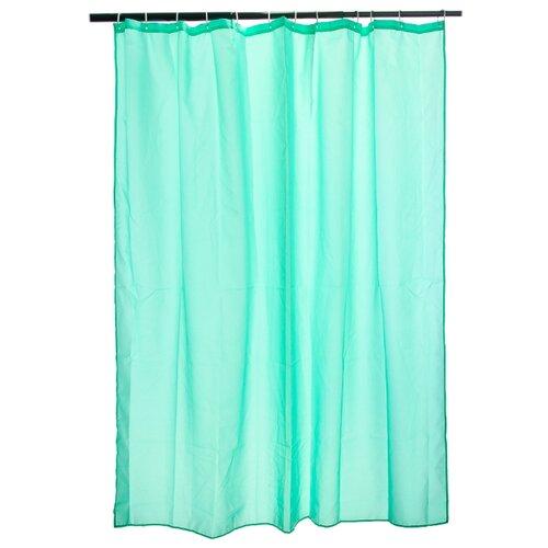 Штора для ванной Vetta 461-451/452/453 180х180 зеленый