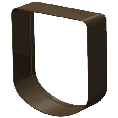 Тоннель для дверцы Ferplast Swing 3/5 16.3х18.4 см коричневый туннель для автоматической двери ferplast swing 3 5 16 3 х 5 х 18 4 см белый