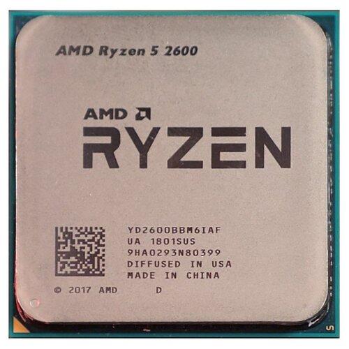 Процессор AMD Ryzen 5 2600, OEM