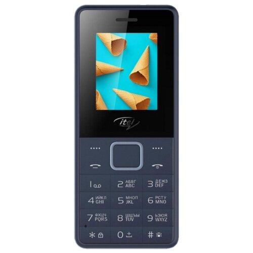 Телефон Itel it2160 синий (IT2160-DABL) мобильный телефон itel it2160 ds black черный