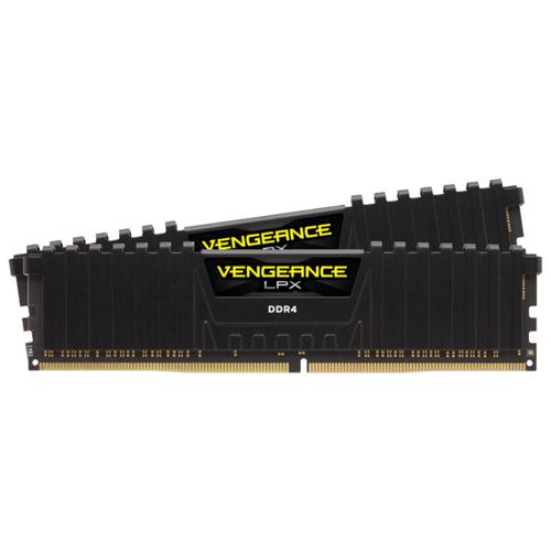 Оперативная память Corsair Vengeance LPX DDR4 3600 (PC 28800) DIMM 288 pin, 8 ГБ 2 шт. 1.35 В, CL 18, CMK16GX4M2D3600C18