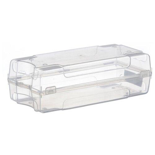 IDEA Коробка для обуви М 2869 13х38х20,5 см прозрачный масленка idea кристалл цвет оранжевый прозрачный