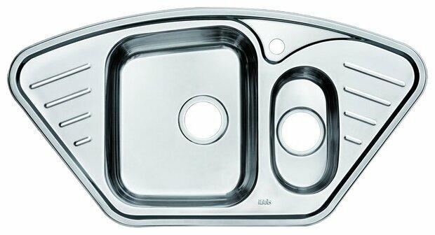 Врезная кухонная мойка IDDIS Strit STR96PCi77 96.5х50.5см