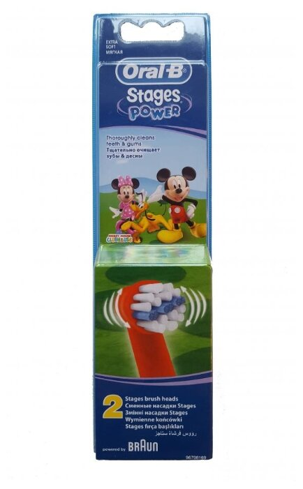 Насадка Oral-B Stages Kids Mickey