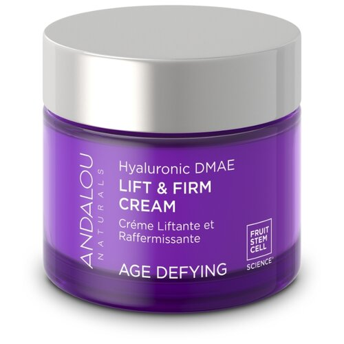 Andalou Naturals Age Defying Hyaluronic DMAE Lift & Firm Cream Лифтинг-крем для лица, 50 г