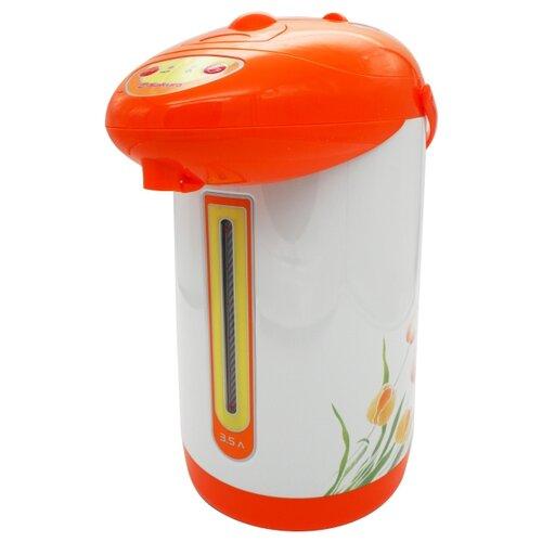 Термопот Sakura SA-353WY, белый/оранжевый