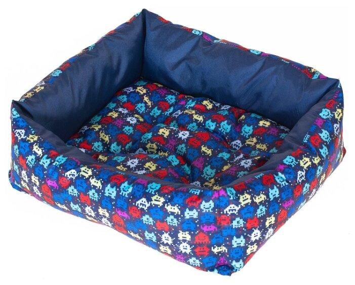 Лежак для собак HappyPuppy Лежак для собак Happy Puppy Пиксель S 40х30х12 см