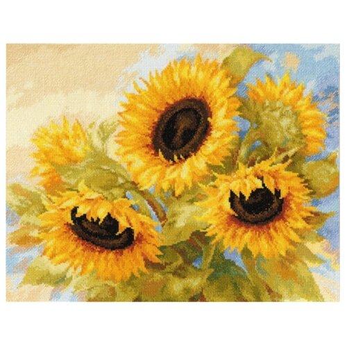 Купить Алиса Набор для вышивания крестиком Солнечные мечты 40 х 30 см (2-30), Наборы для вышивания