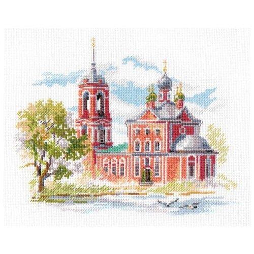 Фото - Алиса Набор для вышивания Переславль-Залесский. Сорокосвятская церковь 22 x 18 см (3-24) алиса набор для вышивания тюльпаны малиновое сияние 22 x 26 см 2 43