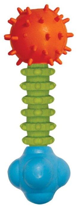 Гантель для собак Triol креативная с колокольчиком 12191034