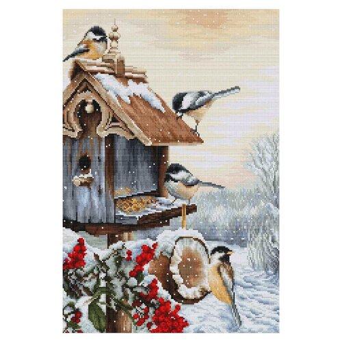 Фото - Luca-S Набор для вышивания Птичий домик, 25.5 х 38 см, BU4021 набор для вышивания luca s b548 клёвое место