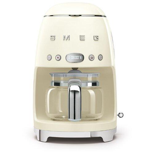 Кофеварка smeg DCF02 кремовый
