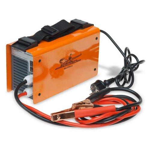 Пуско-зарядное устройство Airline AJS-80-04 оранжевый пуско зарядное устройство airline ajs chj 100 оранжевый