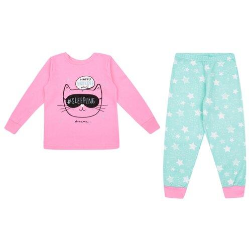 Купить Пижама Leader Kids размер 98, розовый, Домашняя одежда