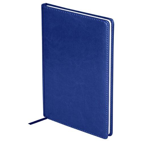 Купить Ежедневник OfficeSpace Nebraska недатированный, искусственная кожа, А4, 136 листов, синий, Ежедневники, записные книжки