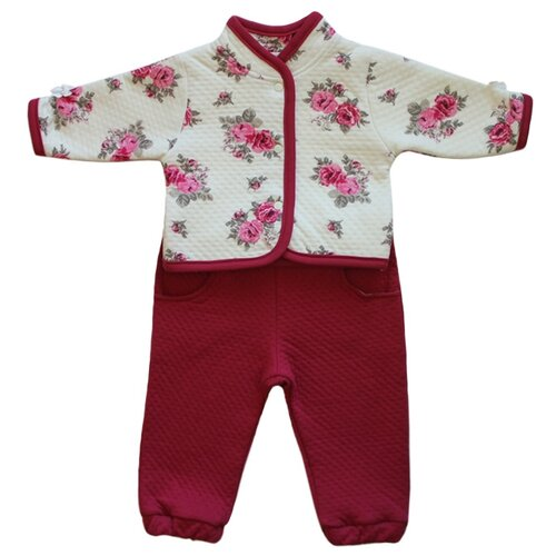 Комплект одежды Жанэт размер 86, белый/красныйКомплекты<br>